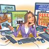 Imagem representando uma cartilha sobre comércio eletrônico