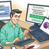 Imagem representando uma cartilha sobre Internet banking